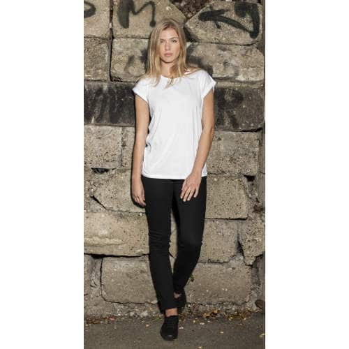 Build Your Brand - Ladies` Extended Shoulder Tee