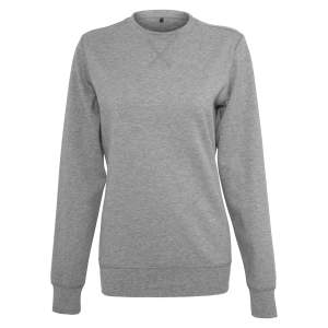 Ladies` Light Crewneck