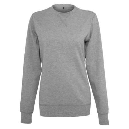 Ladies` Light Crewneck von Build Your Brand (Artnum: BY025