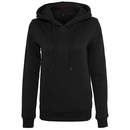 Ladies` Heavy Hoody in Black von Build Your Brand (Artnum: BY026
