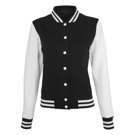 Ladies` Sweat College Jacket von Build Your Brand (Artnum: BY027