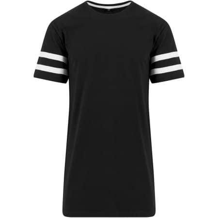 Stripe Jersey Tee von Build Your Brand (Artnum: BY032