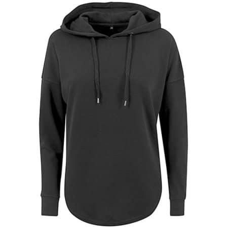 Ladies` Oversized Hoody in Black von Build Your Brand (Artnum: BY037
