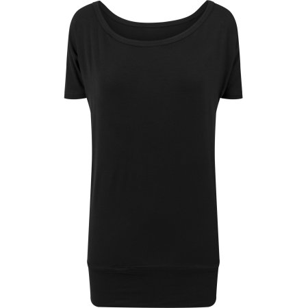 Ladies` Viscose Tee von Build Your Brand (Artnum: BY040