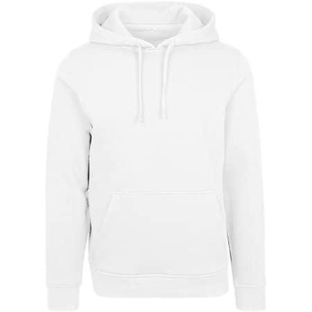 Merch Hoody in White von Build Your Brand (Artnum: BY084