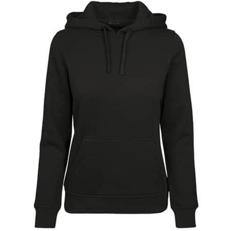 Ladies Merch Hoody in Black von Build Your Brand (Artnum: BY087