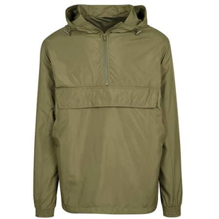 Basic Pull Over Jacket von Build Your Brand (Artnum: BY096