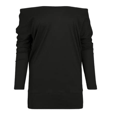 Ladies Batwing Longsleeve von Build Your Brand (Artnum: BY107