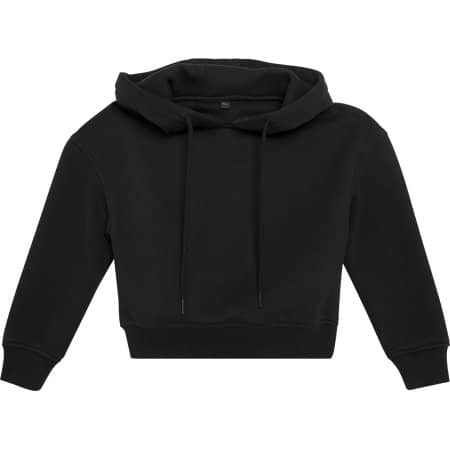 Girls Cropped Sweat Hoody von Build Your Brand (Artnum: BY113