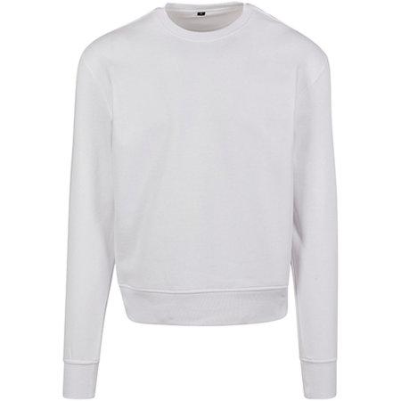 Premium Oversize Crewneck Sweatshirt in White von Build Your Brand (Artnum: BY120