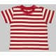 Thumbnail T-Shirts in Red|Washed White: Baby Stripy T BZ02S von Babybugz