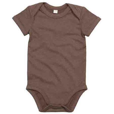 Baby Bodysuit in Mocha von Babybugz (Artnum: BZ10