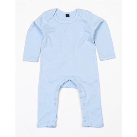 Baby Rompasuit in Dusty Blue von Babybugz (Artnum: BZ13