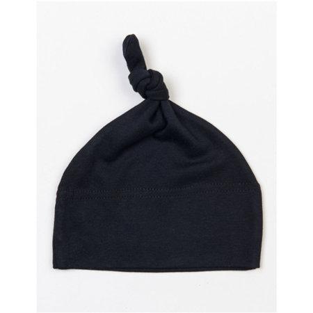 Baby One Knot Hat in Black von Babybugz (Artnum: BZ15