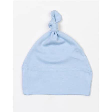 Baby One Knot Hat in Dusty Blue von Babybugz (Artnum: BZ15