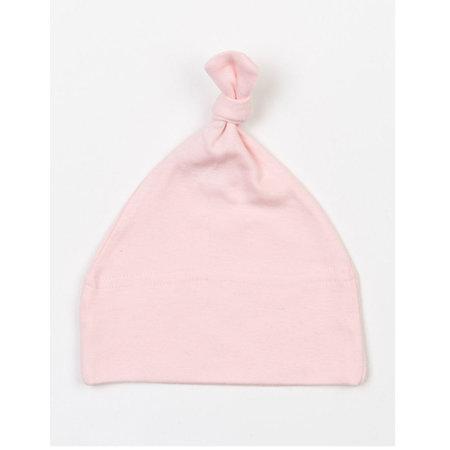 Baby One Knot Hat in Powder Pink von Babybugz (Artnum: BZ15