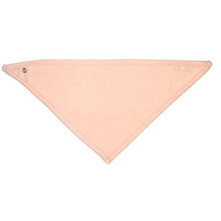 Bandana Bib in White|Powder Pink von Babybugz (Artnum: BZ23