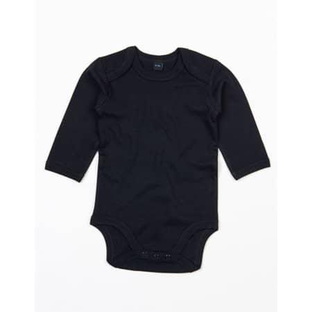 Baby Organic Long Sleeve Bodysuit in Black von Babybugz (Artnum: BZ30