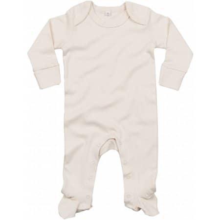 Baby Organic Sleepsuit with Scratch Mitts von Babybugz (Artnum: BZ35