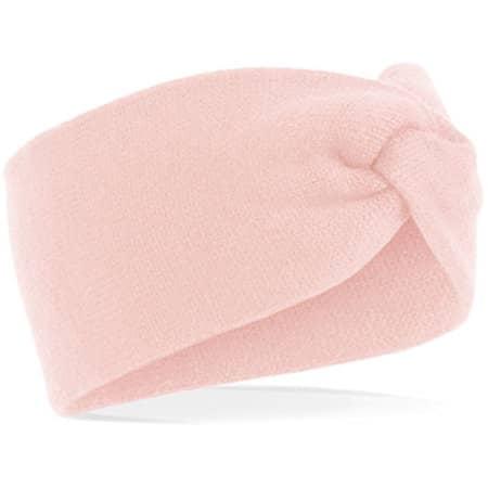 Twist Knit Headband in Pastel Pink von Beechfield (Artnum: CB432