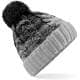 Thumbnail Mützen in Black|Light Grey: Ombré Beanie CB459 von Beechfield