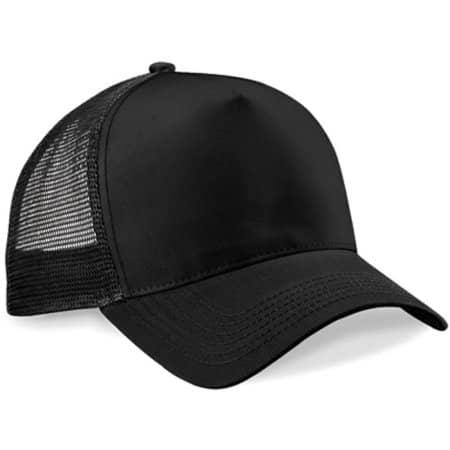 Snapback Trucker in Black|Black von Beechfield (Artnum: CB640