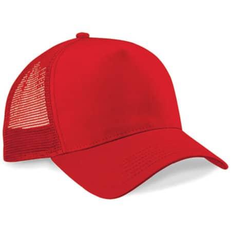 Snapback Trucker in Classic Red|Classic Red von Beechfield (Artnum: CB640