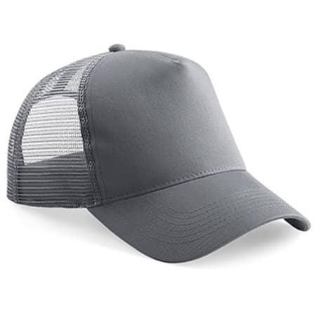 Snapback Trucker in Graphite Grey|Graphite Grey von Beechfield (Artnum: CB640