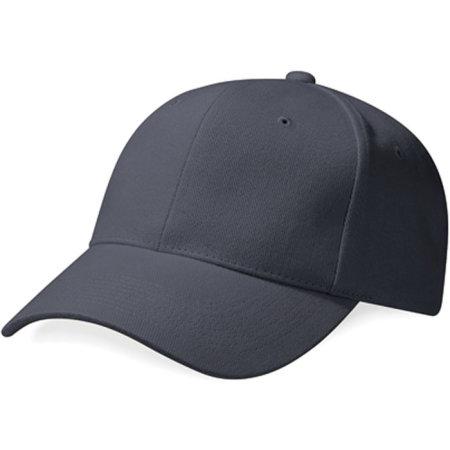 Pro-Style Heavy Brushed Cotton Cap in Graphite Grey von Beechfield (Artnum: CB65