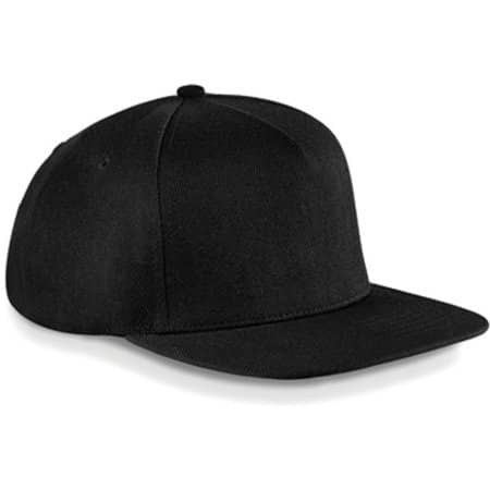 Original Flat Peak Snapback in Black|Black von Beechfield (Artnum: CB660