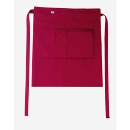 Bistroschürze Roma Bag 50 x 78 cm in Cherry von CG Workwear (Artnum: CGW1262
