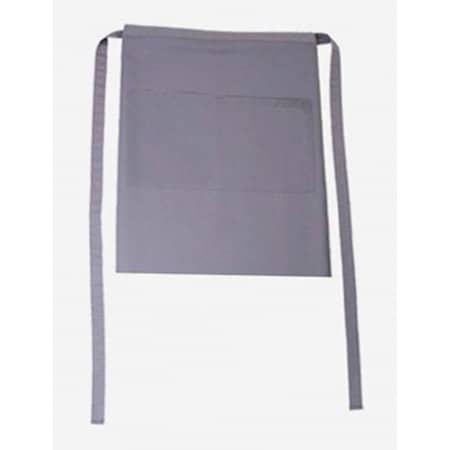 Bistroschürze Roma Bag 50 x 78 cm in Elefant von CG Workwear (Artnum: CGW1262