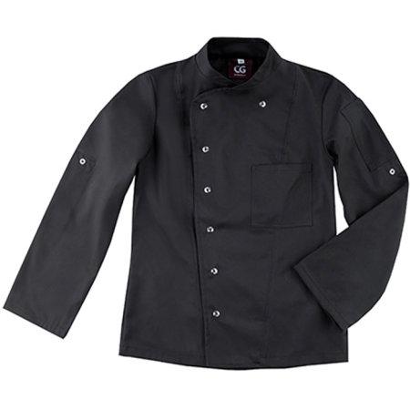 Kochjacke Turin Lady Classic in Black von CG Workwear (Artnum: CGW3105