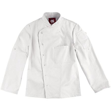 Kochjacke Turin Lady Classic in White von CG Workwear (Artnum: CGW3105
