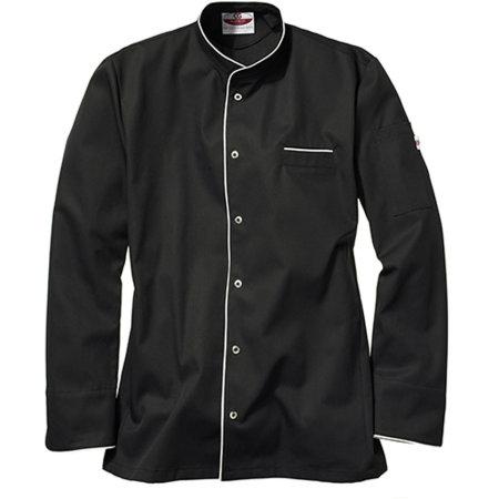 Kochjacke Trapani Man in Black White von CG Workwear (Artnum: CGW3620