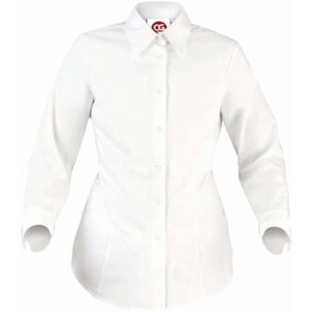Bluse Ferrara Lady in White von CG Workwear (Artnum: CGW640