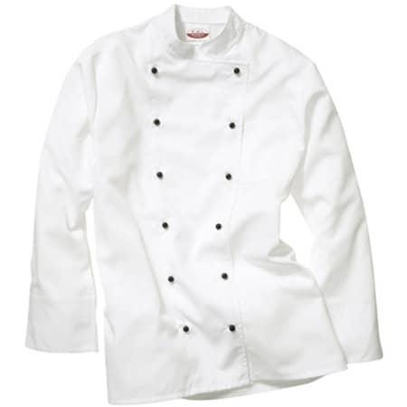 Kochjacke Rimini Man in White von CG Workwear (Artnum: CGW907