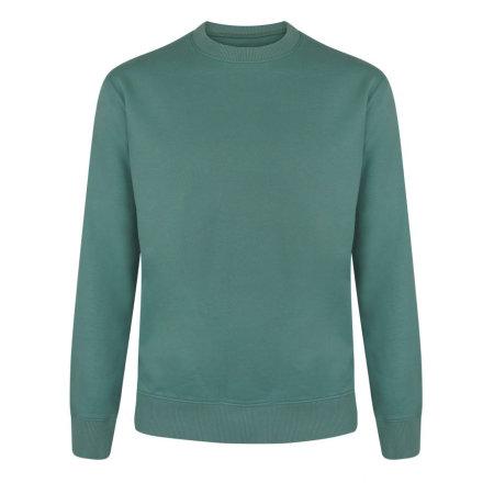 Unisex Heavy Sweatshirt in Sage Green von Continental Clothing (Artnum: COR62