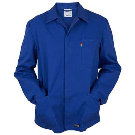 Classic Long Work Jacket in Royal von Carson Classic Workwear (Artnum: CR701