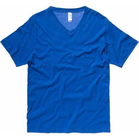 Jersey V-Neck T-Shirt von Canvas (Artnum: CV3005