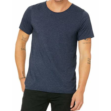 Men`s Jersey Raw Neck Tee von Canvas (Artnum: CV3014