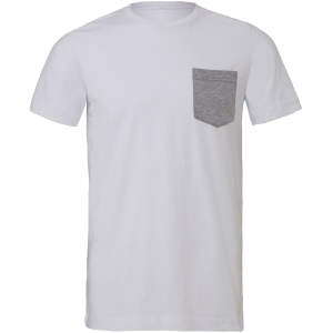 Men`s Jersey Short Sleeve Pocket Tee