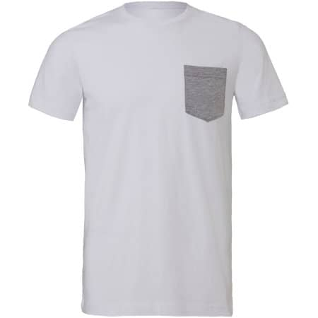 Men`s Jersey Short Sleeve Pocket Tee von Canvas (Artnum: CV3021