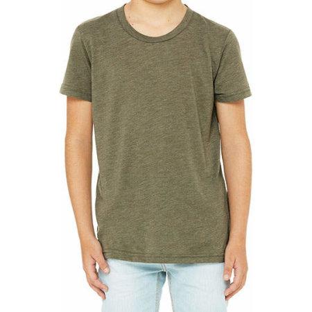 Youth Triblend Jersey Short Sleeve Tee von Canvas (Artnum: CV3413Y