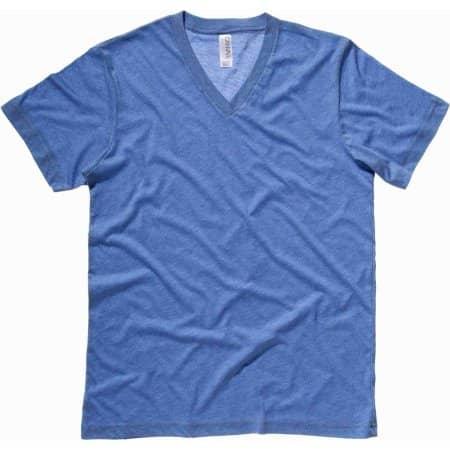 Triblend V-Neck T-Shirt von Canvas (Artnum: CV3415
