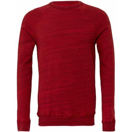 Triblend Sponge Fleece Sweatshirt von Canvas (Artnum: CV3901