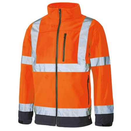 High Visible Softshell Jacket von Dickies (Artnum: DK2007