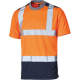 Thumbnail T-Shirts: Two Toned High Visible Tee DK22081 von Dickies