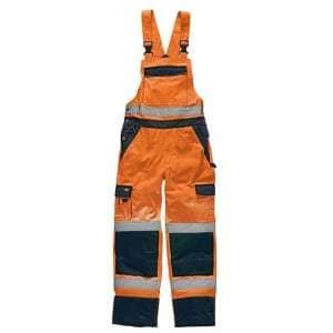 Industry Warnschutz Latzhose EN20471
