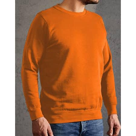 New Men`s Sweater 80/20 in Orange von Promodoro (Artnum: E2199N